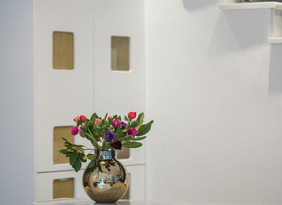 Bahar Boutique Hotel reception desk