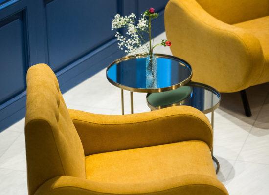 Bahar Boutique Hotel reception