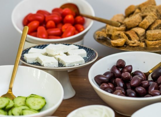 Bahar Boutique Hotel Greek breakfast